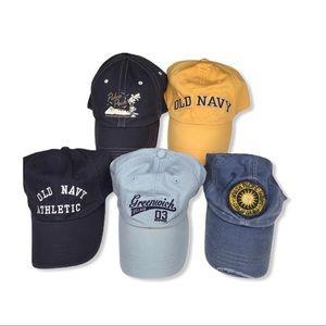 Bundle of 5 Old Navy Hats.